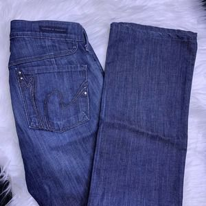 CITIZENS OF HUMANITY Jeans Size 26 Kelly Low Rise